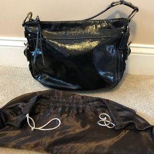 Coach Zoe Hobo Patent Leather Bag E0873-12735